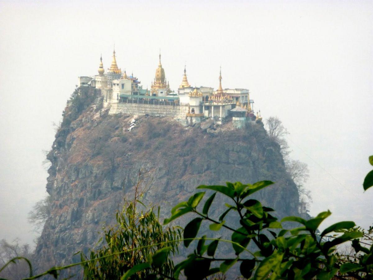 Popa Mountain Aye Yar River View Resort Old Bagan Myanmar
