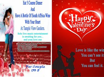 Valentine's Day Dinner Program